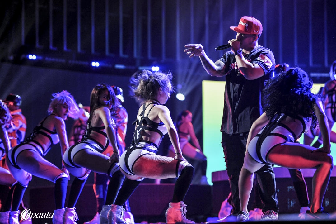 daddy yankee ensayo latin american music awards 2015 ipauta noticias tebanmusic