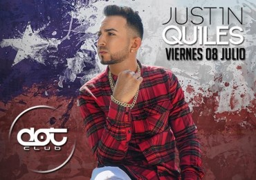 Evento Justin Quiles – Dot Club (Chile) (08 De Julio)