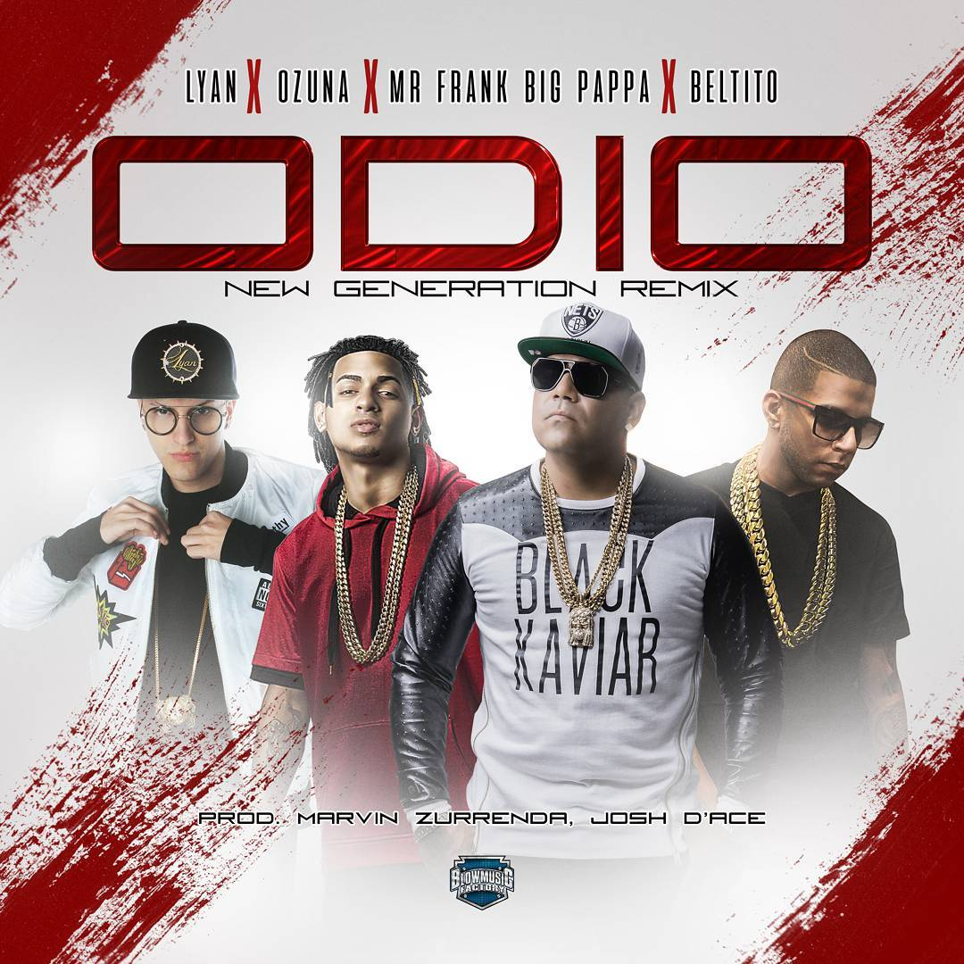 cover Mr. Frank Ft. Ozuna, Lyan Y Beltito - Odio (New Generation Remix)